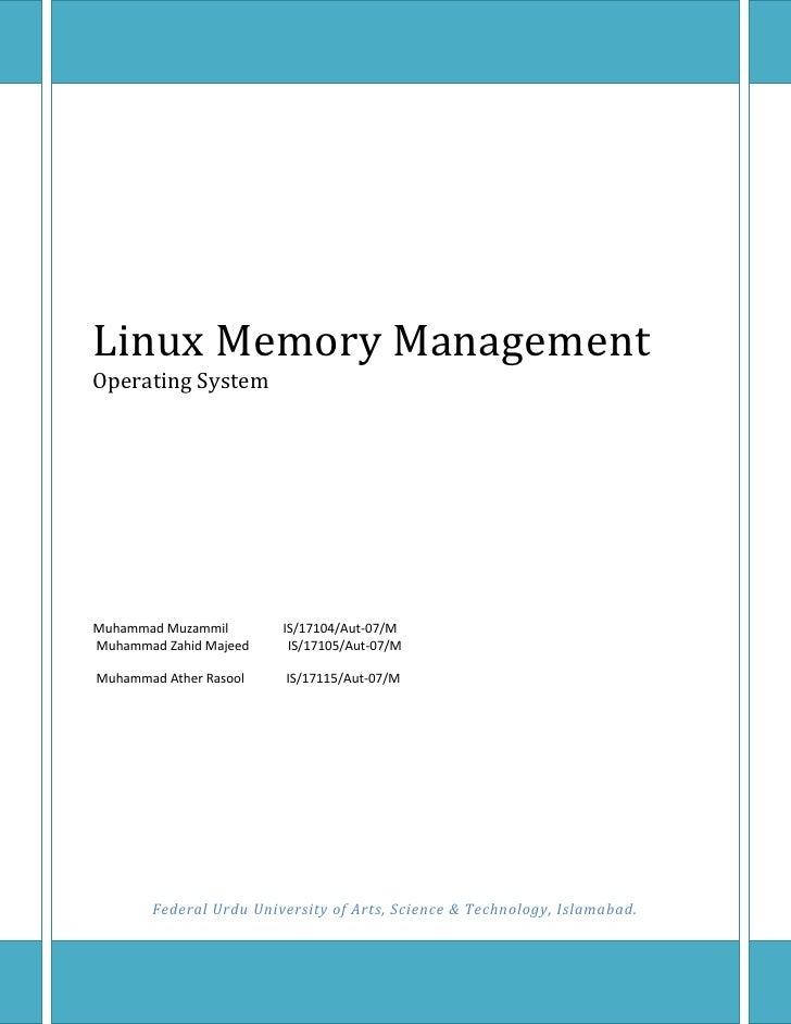 Os Linux Documentation