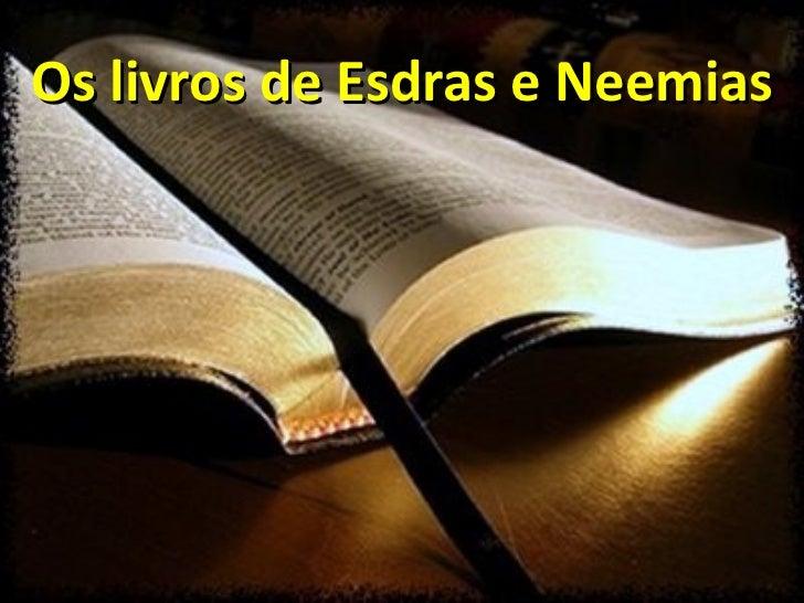 Os livros de Esdras e Neemias