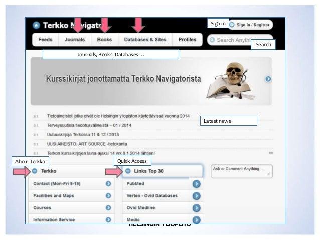 Terkko Navigator