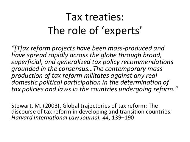 thesis on tax law