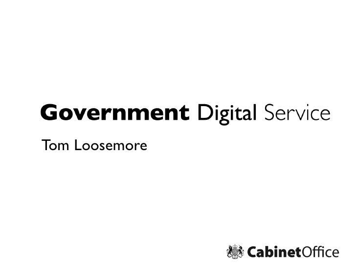 Tom Loosemore