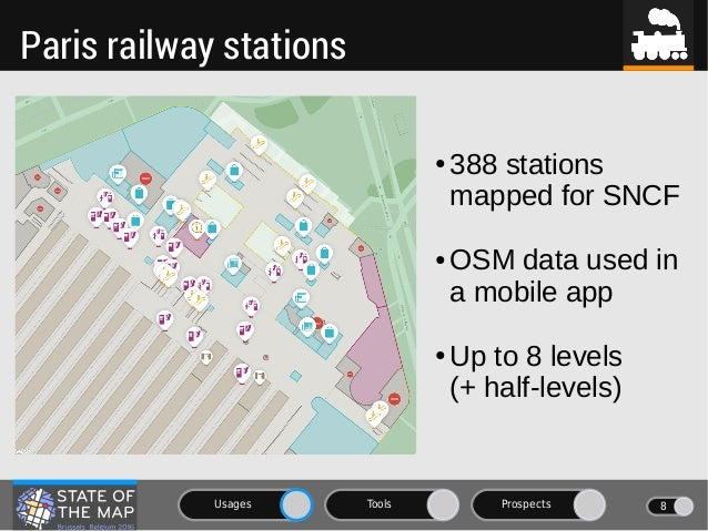 OSM goes indoors: usages, tools and prospects