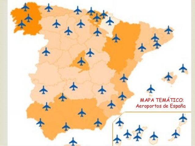 Mapa Tematico De Espana.Os Mapas