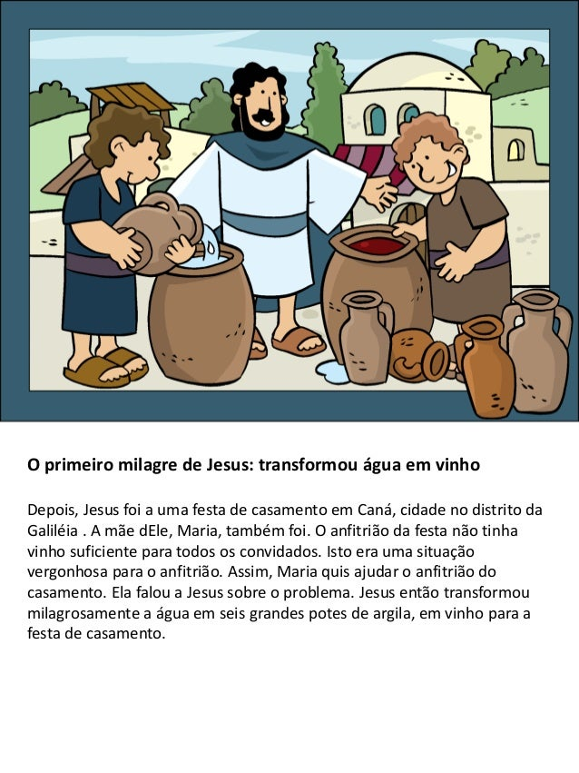 Os milagres de Jesus para crianças  Slide 2