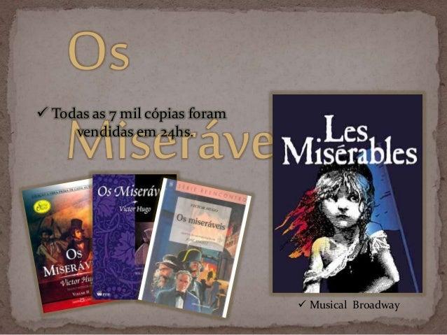 Livro - Os Miseráveis Slide 3