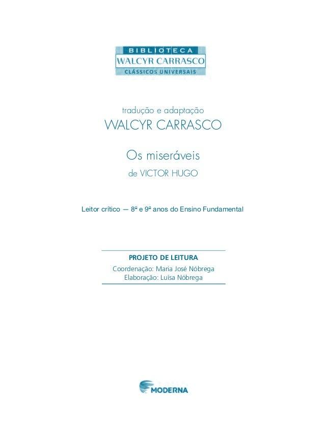 PROJETO DE LEITURA Coordenação: Maria José Nóbrega Elaboração: Luísa Nóbrega DESCRIÇÃO DO PROJETO DE LEITURA UM POUCO SOBR...