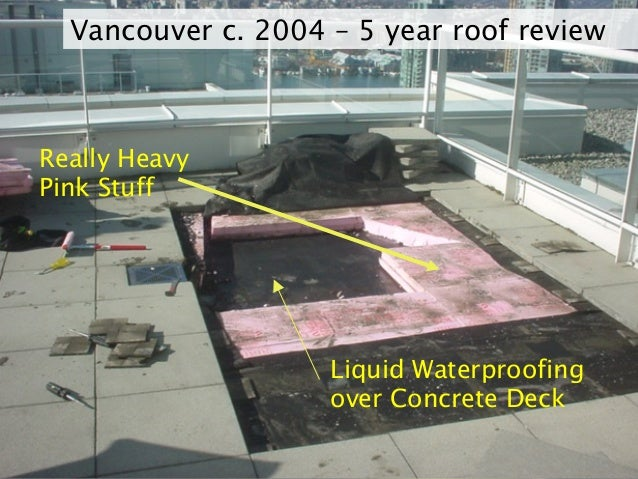 Osmosis: The Bane of Liquid Applied Waterproofing Membranes