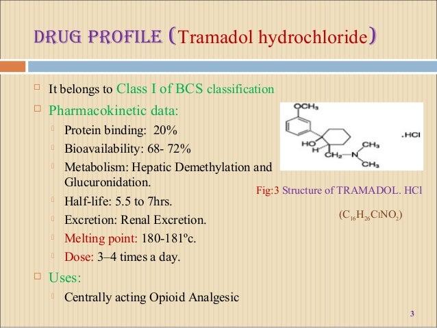tramadol classification