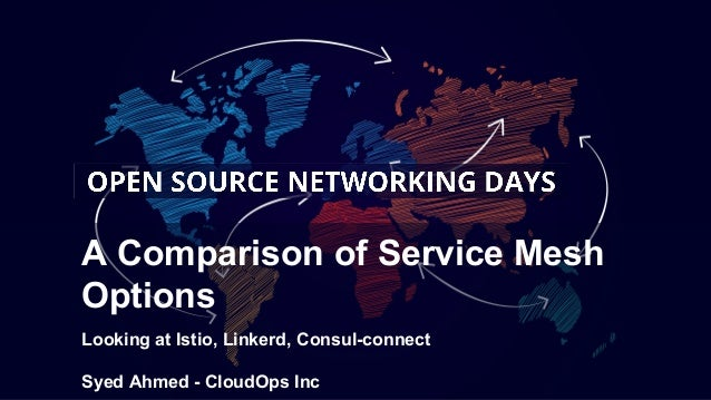 Open Source Networking Days- Service Mesh