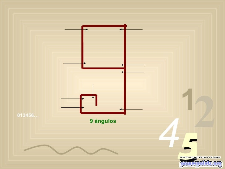 013456… 1 2 4 5 9 ángulos