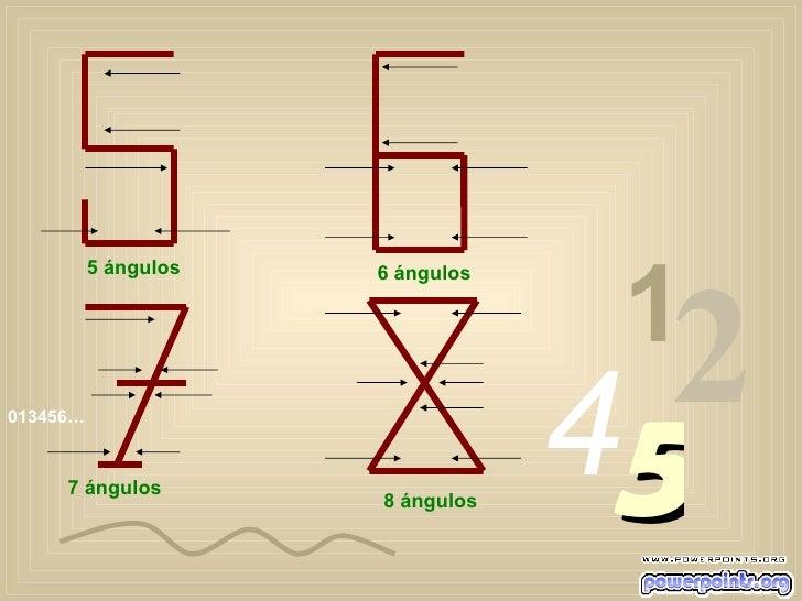 013456… 1 2 4 5 5 ángulos 6 ángulos 7 ángulos 8 ángulos