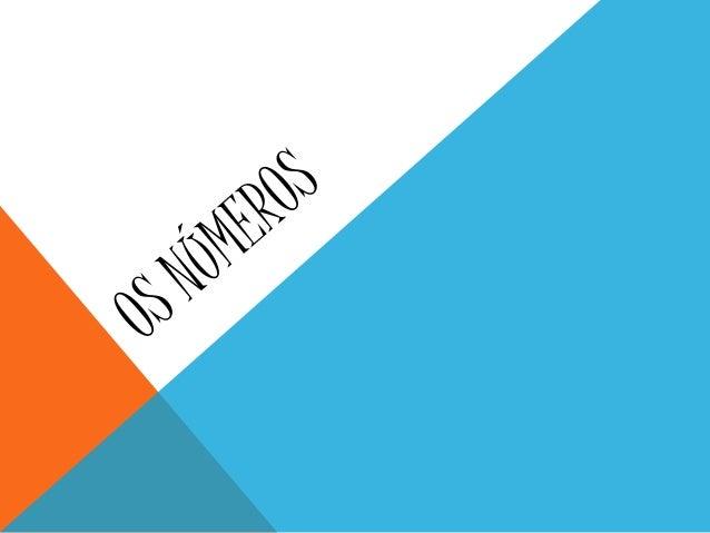 Os números que escrevemos são formados por algarismos(1,2,3,4, etc.) chamados de algarismos arábicos, para distingui-los d...