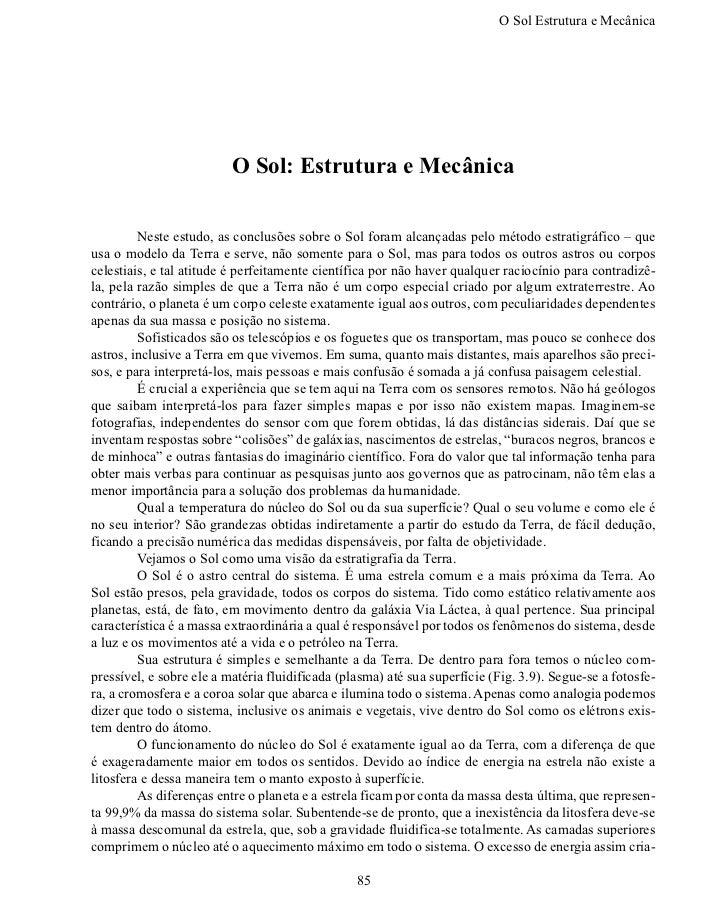 O Sol Estrutura e Mecânic                          O Sol: Estrutura e Mecânica        Neste estudo, as conclusões sobre ...