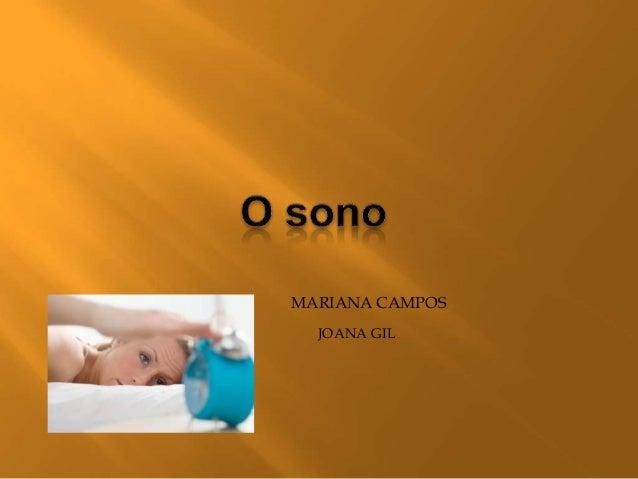 MARIANA CAMPOS  JOANA GIL