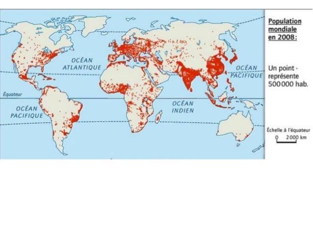 Grand Foyer De Peuplement En Europe : Où sont les hommes sur terre