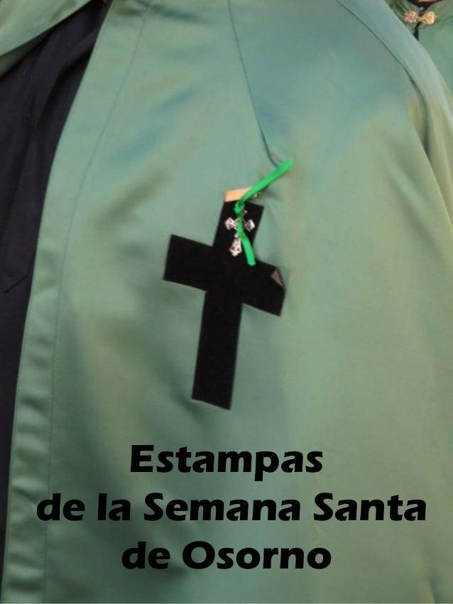 Estampas  de la Semana Santa  de Osorno