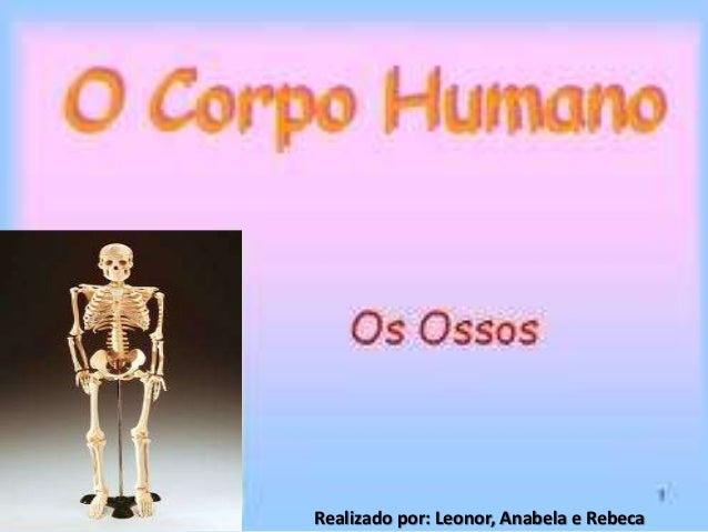 Doençasdos ossos     Feito por: Anabela, Leonor e Rebeca.Realizado por: Leonor, Anabela e Rebeca