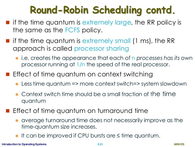 how to find average waiting time in round robin scheduling