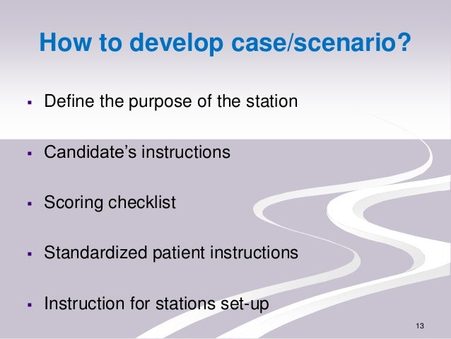 osce scenarios Common osce stations a quick guide of what to expect in your osce.