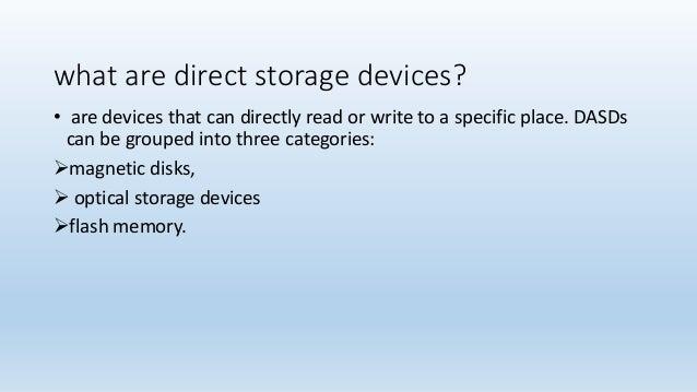 direct access storage device pdf