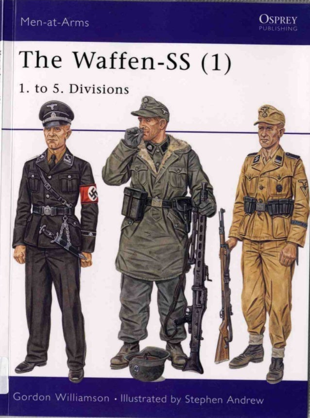 The Waffen SS 1. to 5. divisions