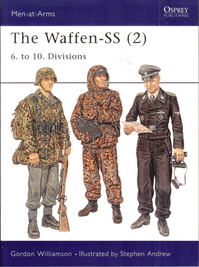 the Waffen SS- 2 - 6 to 10 divisions