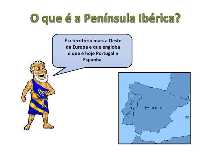 Os primeiros povos a habitar a península ibérica Slide 2