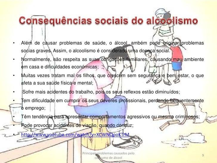 Doutores sobre alcoolismo de crianças