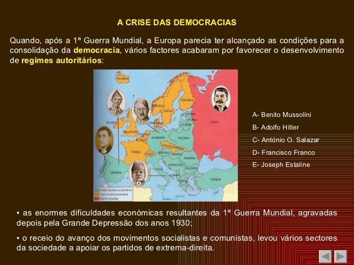 Os Regimes Fascista e Nazi Slide 2