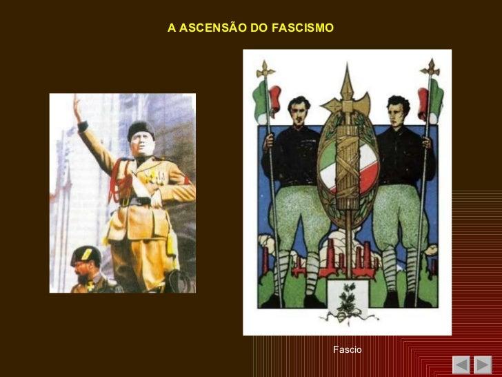 Os Regimes Fascista e Nazi Slide 3