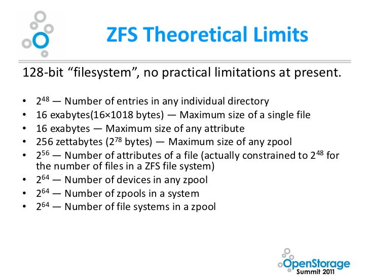 Oss presentation by kevin halgren for Zfs pool design