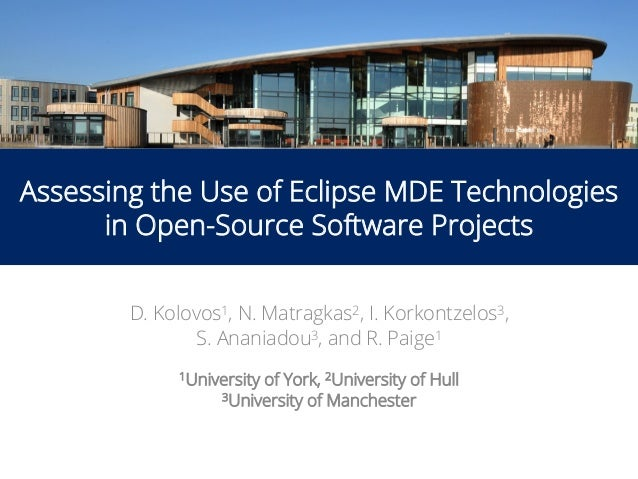 Assessing the Use of Eclipse MDE Technologies in Open-Source
