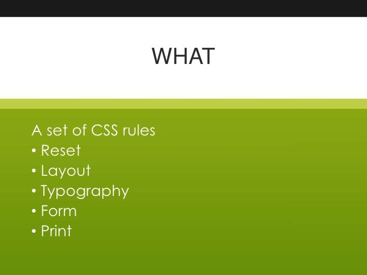 Blueprint css slides for oss bar camp dublin forbairtmedia introduction to css frameworks presented by james larkin 2 malvernweather