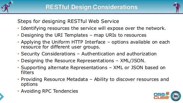 23 restful design considerations