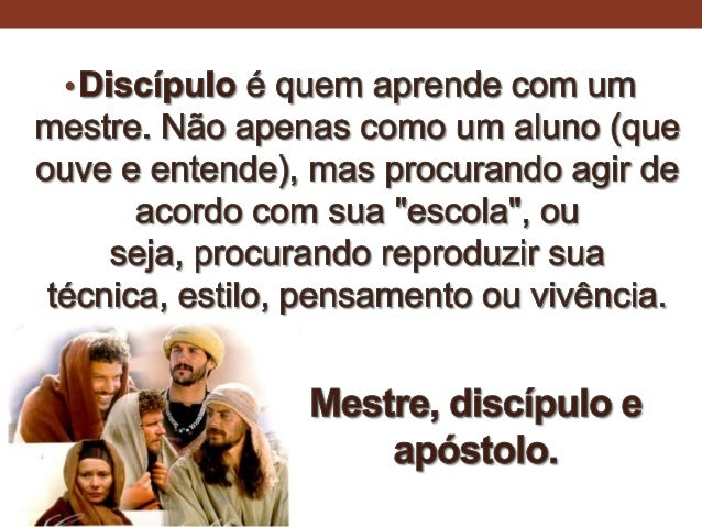 Os seguidores de Jesus - n.14 Slide 3