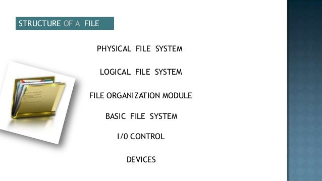 Physical File System In Operating System