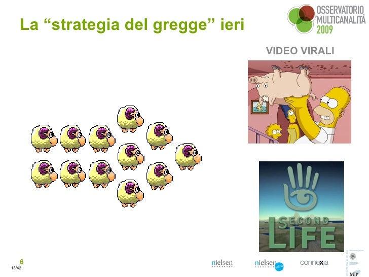 """La """"strategia del gregge"""" ieri                                      VIDEO VIRALI         6 13/42"""