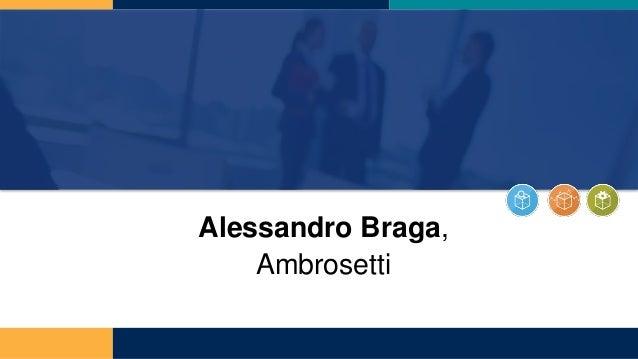 Alessandro Braga, Ambrosetti