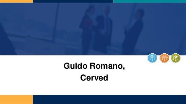 Guido Romano, Cerved