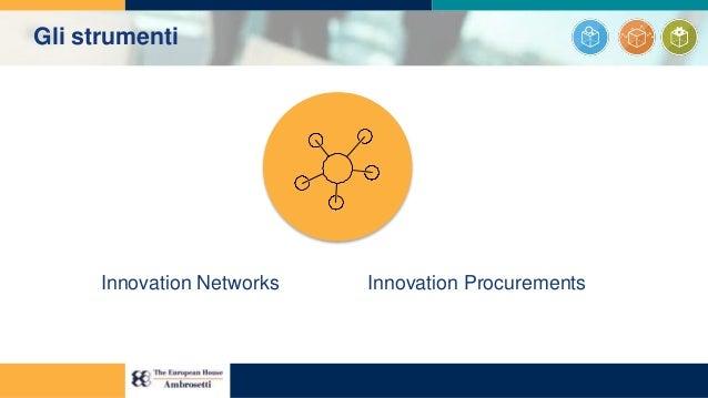 Innovation Networks Innovation Procurements Gli strumenti