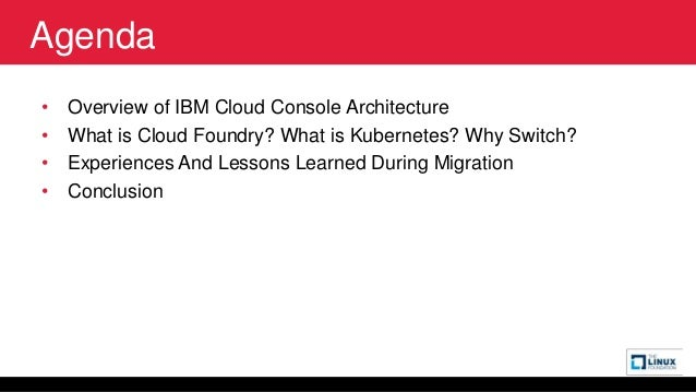 Migration of an Enterprise UI Microservice System from Cloud Foundry to Kubernetes                       Slide 2