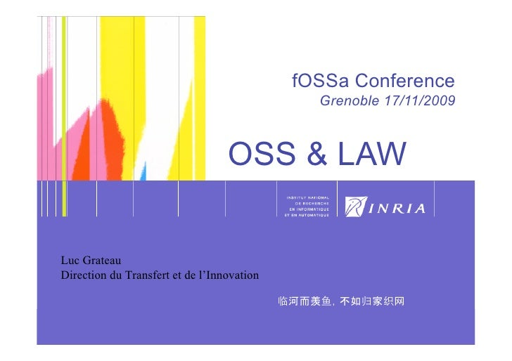 1!                                                        fOSSa Conference                                                ...