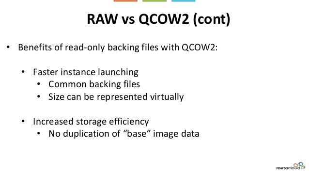 Optimizing VM images for OpenStack with KVM/QEMU