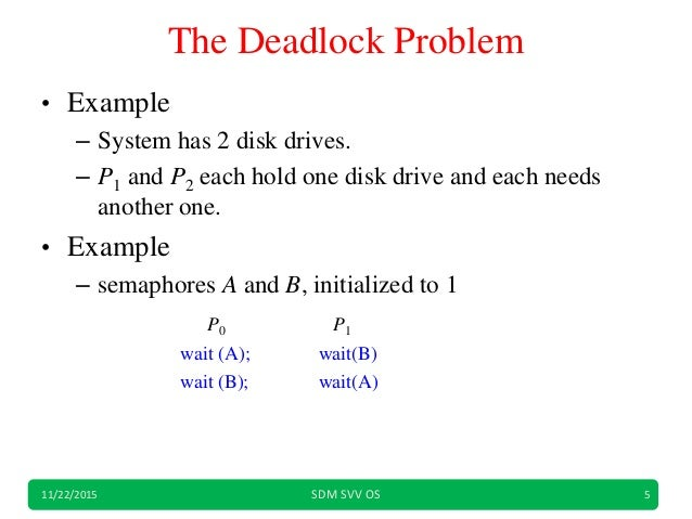 deadlock prevention and avoidance in os pdf