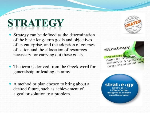 Strategy Organization Design And Effectiveness