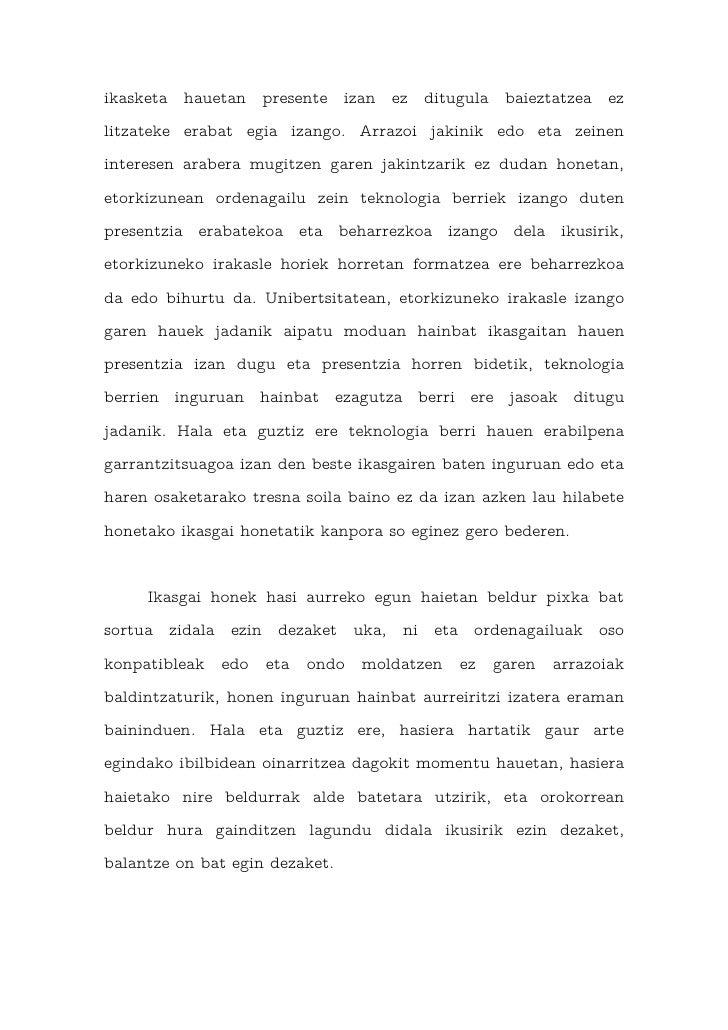 Osteguneko saioa (azken aurreko saioa) Slide 3