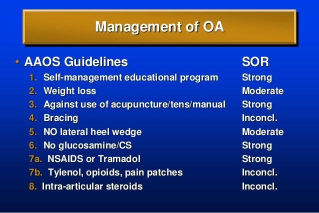 osteoarthritis treatment guidelines 2017 pdf