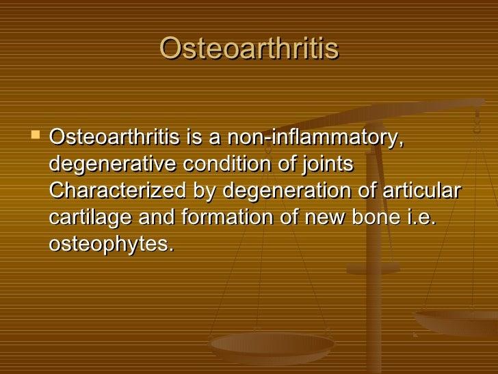 Osteoarthritis ppt Slide 2