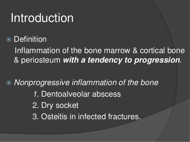 Osteomyelitis of jaws Slide 2