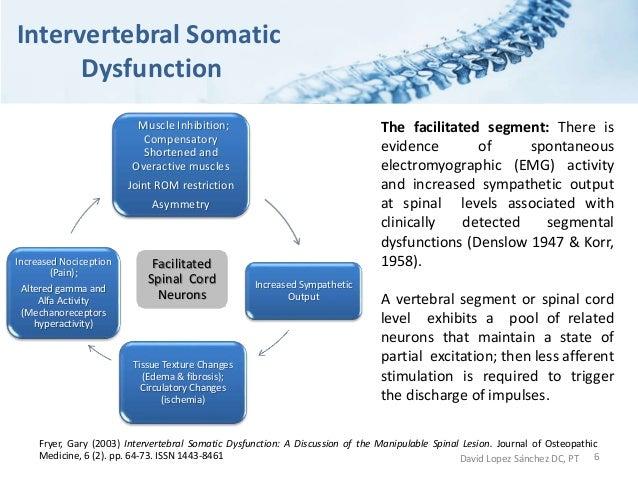 lumbar somatic dysfunction